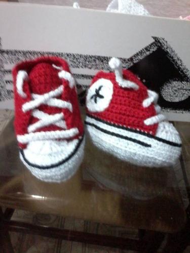 43091f0c3 Escarpines Zapatos Tejido Crochet Para Bebes adidas Converse - 25000 ...
