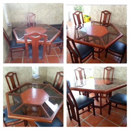 Juego de comedor y muebles bs vz0wl precio d for Comedor pequea o precio