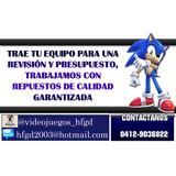 Reparacion Y Servicio A Ps3 Ps4 Dsi Xl Xbox 360 One Ps2  Wii