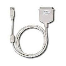 Cable Usb A Puerto Paralelo Impresora Matriz Punto Dynex