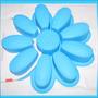 Molde De Silicon Flor Gigante Ponquesitos Gelatina Y Mas