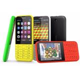Telefono Celular Nokia 220 Doble Sim Camara Flash Mp3 Tienda