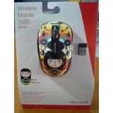 Mouse Microsoft Inalámbrico 3500 Serie Artística 100% Origin