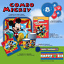 Combo Decoracion Mickey Mouse Club House Fiesta Infantiles