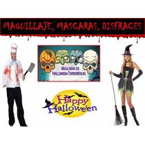 Halloween Mascaras Y Disfraces