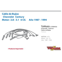 Cables Bujias Century/cavalier/corsica F.i. 2.8 - 3.1 87-94