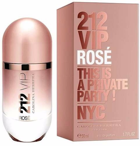 96ea569685dbf Carolina Herrera 212 Vip Rose Perfume Damas 80ml Original - 105000 ...