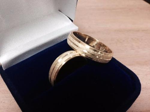 Anillos de matrimonio de plata 925 con ba o de oro bs f - Bano de oro precio ...