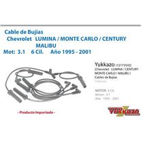 Cables Bujias Lumina Montecarlo Century Malibu Mot 3.1 95-01