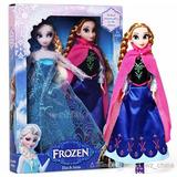 Set De Muñecas Serie Frozen Elsa / Anna 30cm