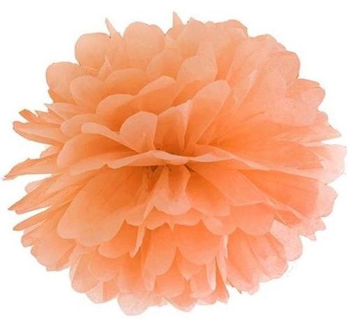 Pompones de papel flores de papel para decorar bs for Papel para empapelar precio