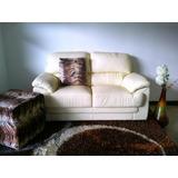 Muebles Comodo Sofa, Mueble De Cuero De 2 Puestos