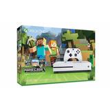 Xbox One S 500gb Minecraft (juego Inluido)+14 Días Xbox Live
