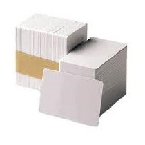 Tarjeta Pvc Blancas Cr80 0.30mil Calidad Grafica Paq 100 Und