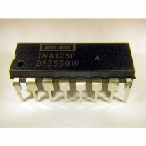 Componente Electrónico Modelo Ina125p Producto Original