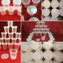 Envases Plásticos Tinitas 180cc (precio Por Caja 1000 Und.)