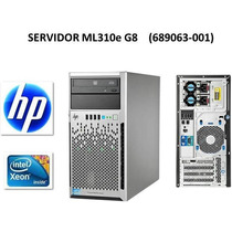 Servidor Hp Proliant G8 Ml310 Xeon 3.1ghz Disco 1tb 4gb Ram