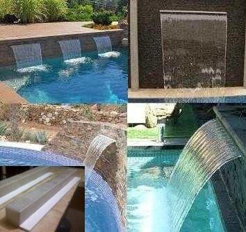 Cascada 1metro fuente para piscina de fibra vidrio y - Fuentes para piscinas ...