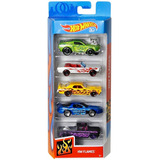 Hotwheels Carritos Set 5 Unidades