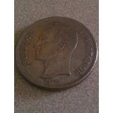 Moneda De 5bs Del Año 1977