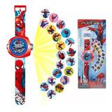 Reloj Proyector Spiderman Frozen Cars  Ben10 Y Avenger
