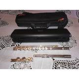 Flauta Transversa Original Yamaha Modelo Yfl-221