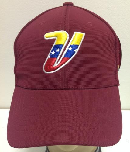 Gorras Flexfit Venezuela Vinotinto Modelo 5 731333e4f7c