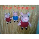 Peluches Peppa Pig Al Mayor Y Al Detal