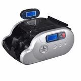 Maquina Contadora De Billetes Detector Uv 2 Pantallas Md0288
