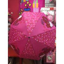 Paraguas De Hello Kitty