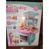 Cocina Para Niños Real Cooking Kitchen