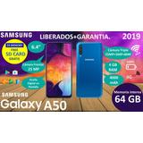 Samsung Galaxy A50 (270) Forro+ Vidrio + Tienda Fisica