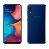 Samsung Galaxy A20 32gb+memoria 32gb De Regalo|tienda Fisica