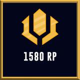 Riot Points - League Of Legends - Lol - (1580 Rp)