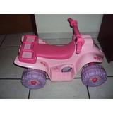 Moto De Bateria Barbie Fisher Price