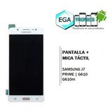 Pantalla + Mica Tactil Samsung J7 Prime G610 Original 5.5pul