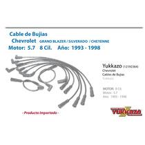 Cable Bujias Grand Blazer Cheyenne Silverado 93-98 8cil 5.7