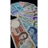 Oferta. Excelente Set De 12 Billetes Antiguos. Sin Circular
