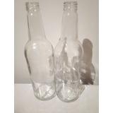 Botellas De Vidrio 0,70 Ml Con Tapa Nuevas Reciclado 24und