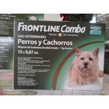 Pipetas Frontline En Combo Perros Menores 10 Kg Vence 01/18
