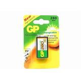 Batería Pila Recargable Gp 9v 280 Mah Sellado Nuevo