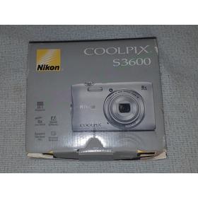 Cámara  Digital Nikon Coolpix S3600 20.1 Mp 8x Zoom