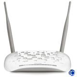 Modem Router Tp-link W8961n Adsl2 Aba Inalámbrico 300mbps
