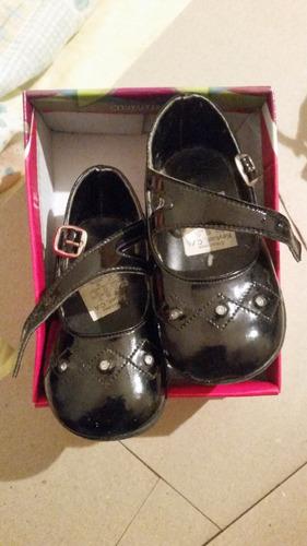 1a9e7572457 Zapatos De Vestir Para Bebe Niña Bautizos Talla Núm 19
