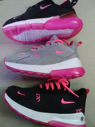b5a6c93be2649 Zapatos Deportivos De Niña Colombiano Nike 270