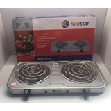 Cocina Electrica 2 Hornillas Kenstar