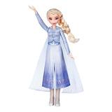Muñeca Disney Elsa Original Con Traje Inspirado En Frozen 2