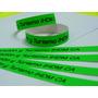 Brazaletes Personalizados Fluorescentes | Para Eventos