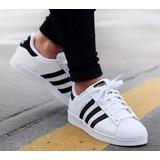 Vsv Zapatos adidas Superstar Dama Y Caballero (tienda)