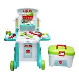 Kit Medico Doctor Kids Juguete 3 En 1 Little Doctor
